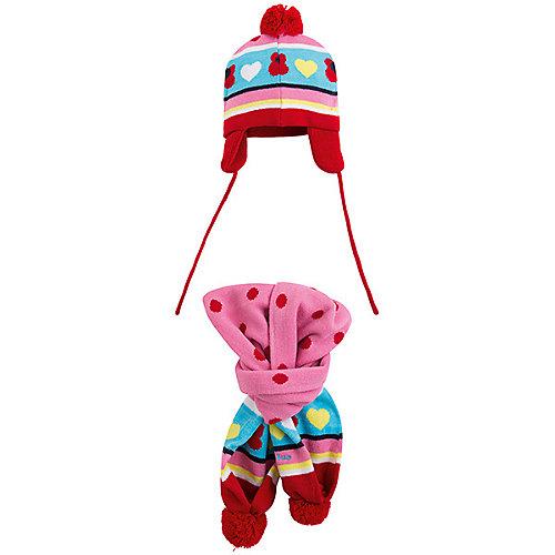 Комплект Tuc-Tuc: шапка и шарф - розовый от Tuc Tuc