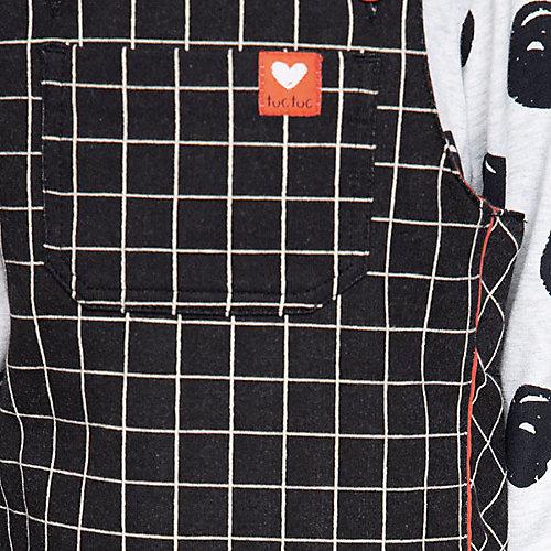 Комплект: платье, футболка Tuc-Tuc - черный от Tuc Tuc