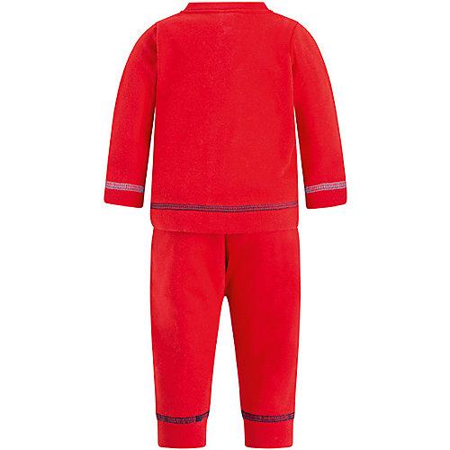 Комплект Tuc-Tuc: толстовка, футболка и брюки - красный от Tuc Tuc