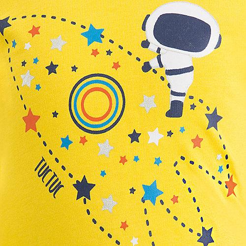Комплект: футболка, брюки Tuc-Tuc - желтый от Tuc Tuc