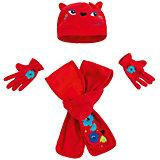 Комплект Tuc-Tuc: шапка, шарф и перчатки