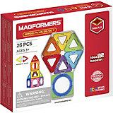 Магнитный конструктор MAGFORMERS Basic Plus 26 Set