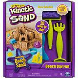 """Игровой набор Kinetic Sand """"Кинетический песок: веселая пляжная игра"""""""