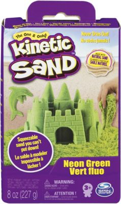 """Игровой набор Kinetic Sand """"Кинетический песок"""", зеленый"""