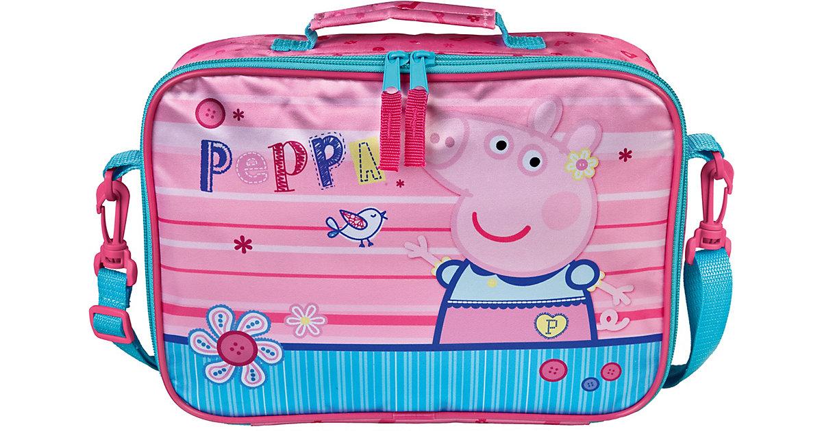 Kinderkoffer Peppa Pig rosa/blau