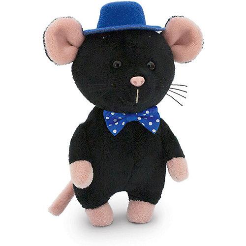 Мягкая игрушка Orange Toys ШышелМышел в шляпе 15 см, чёрный от Orange