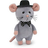 Мягкая игрушка Orange Toys ШышелМышел в шляпе 15 см, серый