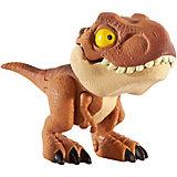 Фигурка Jurassic World Цепляющийся мини-динозаврик Тираннозавр Рекс коричневый