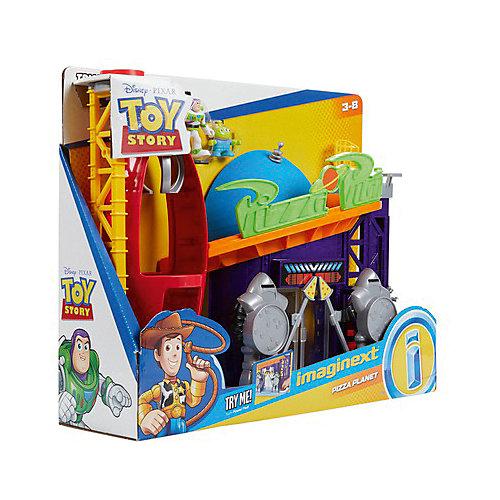 Игровой набор Imaginext Планета Пицца от Mattel