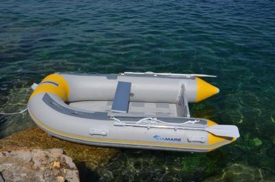 VIAMARE Sportboot 330 cm Schlauchboot mit Hochdruck Boden