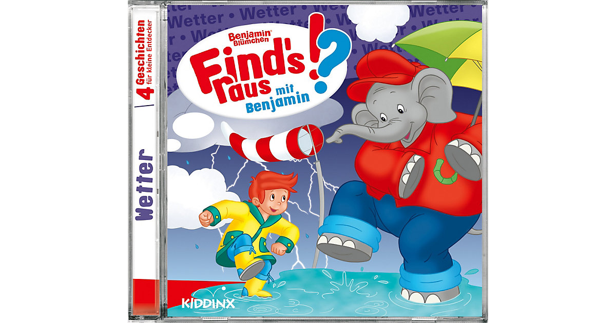 CD Benjamin Blümchen - Finds raus Wetter Hörbuch