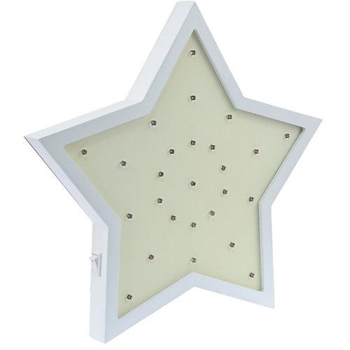 Светильник настенный Ночной лучик «Звездочка», желтый от Ночной Лучик