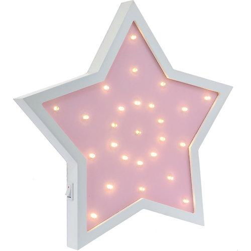 Светильник настенный Ночной лучик «Звездочка», розовый от Ночной Лучик
