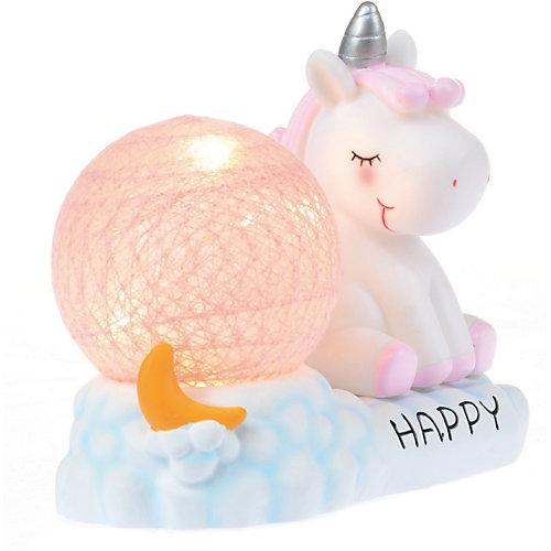 Светильник настольный Ночной лучик «Мини единорог», розовый от Ночной Лучик