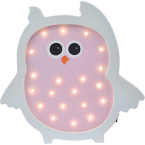 Светильник настенный Ночной лучик «Сова», розовый от Ночной Лучик