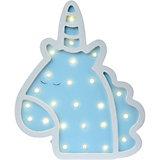 Светильник настенный Ночной лучик «Единорог», голубой