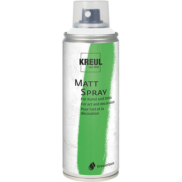 Matt Spray Weiß 200 ml