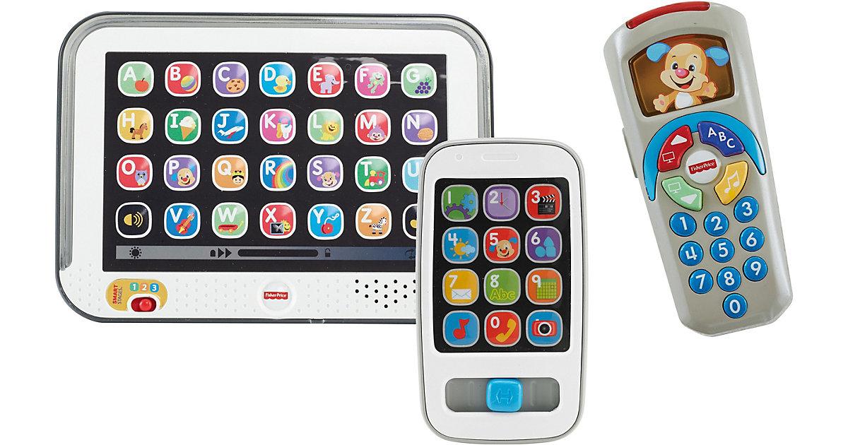 Lernspaß Tablet (grau) + Lernspaß Smart Phone + Lernspaß Fernbedienung