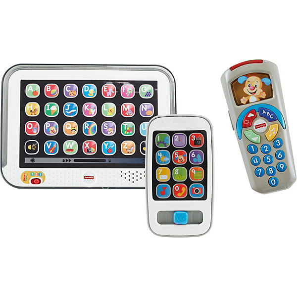 Bundle Fisher Price Lernspaß: Tablet + Smart Phone + Fernbedienung