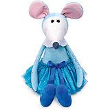 Мягкая игрушка Budi Basa Крыса Балерина в голубом Лилу, 26 см