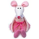 Мягкая игрушка Budi Basa Крыса Балерина в розовом Лола, 26 см