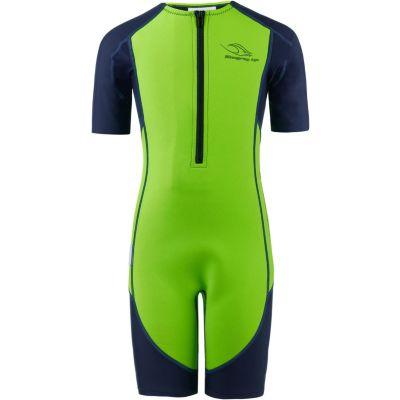 AQUA SPHERE Stingray Kinder Neopren Shorty Neoprenanzug Schwimmanzug green