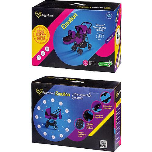 Коляска-трансформер для кукол Buggy Boom Amidea, ярко-розовая от Buggy Boom