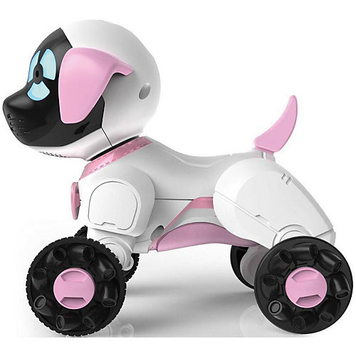 Робот на р/у WowWee Собака Чиппи, белый от WowWee