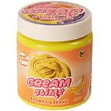 Слайм Slime Cream с ароматом банана, 450 г
