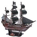 """3D пазл Zilipoo Корабль """"Черная жемчужина"""""""