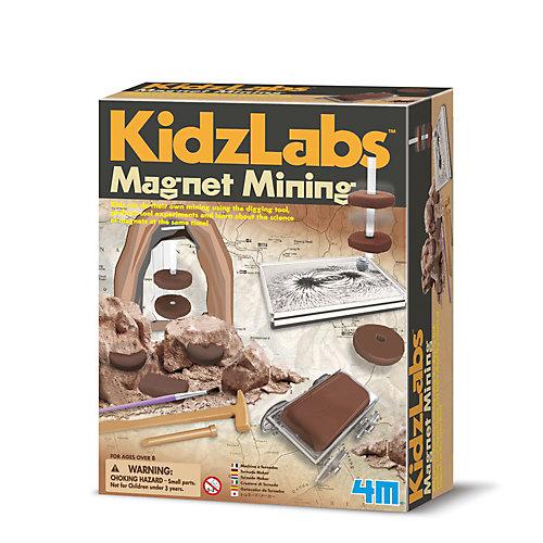 Набор для раскопок 4M KidzLabs Магнитный рудник от 4M