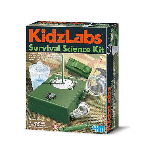 Набор для опытов 4M KidzLabs Наука выживания от 4M