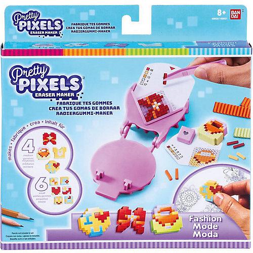 """Набор для создания ластиков Pretty Pixels Eraser Maker  """"Любимые увлечения"""" от BANDAI"""