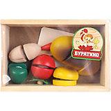 Игрушка Буратино Овощи на липучке