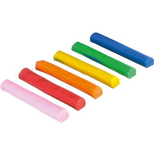 "Набор для творчества Bondibon ""Мягкий пластилин"", 6 цветов, с формочкой от Bondibon"