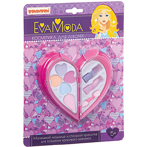"Набор декоративной косметики Bondibon Eva moda ""Сердце"" от Bondibon"