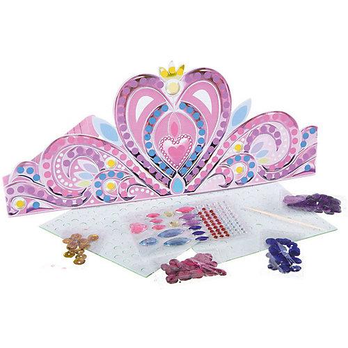 "Набор для творчества Bondibon ""Тиара принцессы с пайетками и стразами"" от Bondibon"