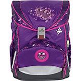 Ранец с наполнением DerDieDas Ergoflex Фиолетовая корона