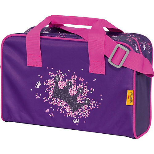Ранец с наполнением DerDieDas Ergoflex Фиолетовая корона - фиолетово-розовый от DerDieDas