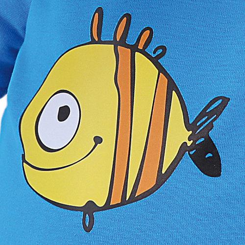 """Мягкая игрушка Budi Basa Собака Бартоломей в футболке с принтом """"Рыбка"""", 27 см от Budi Basa"""
