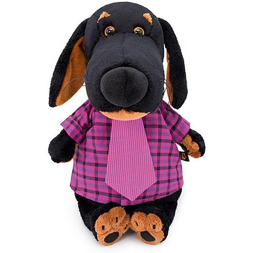 Мягкая игрушка Budi Basa Собака Ваксон в рубашке и галстуке, 25 см от Budi Basa