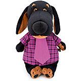 Мягкая игрушка Budi Basa Собака Ваксон в рубашке и галстуке, 25 см