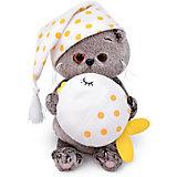 Мягкая игрушка Budi Basa Басик BABY с подушкой - рыбкой, 20 см