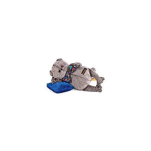 Мягкая игрушка Budi Basa Кот Басик в разноцветном банте и с подушкой, 26 см от Budi Basa