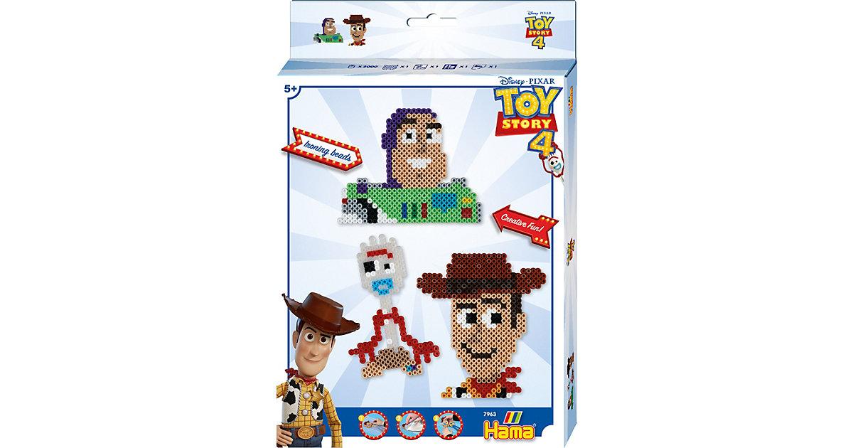 HAMA 7963 Kleines Geschenkset Toy Story 4, 2.000 midi-perlen & Zubehör