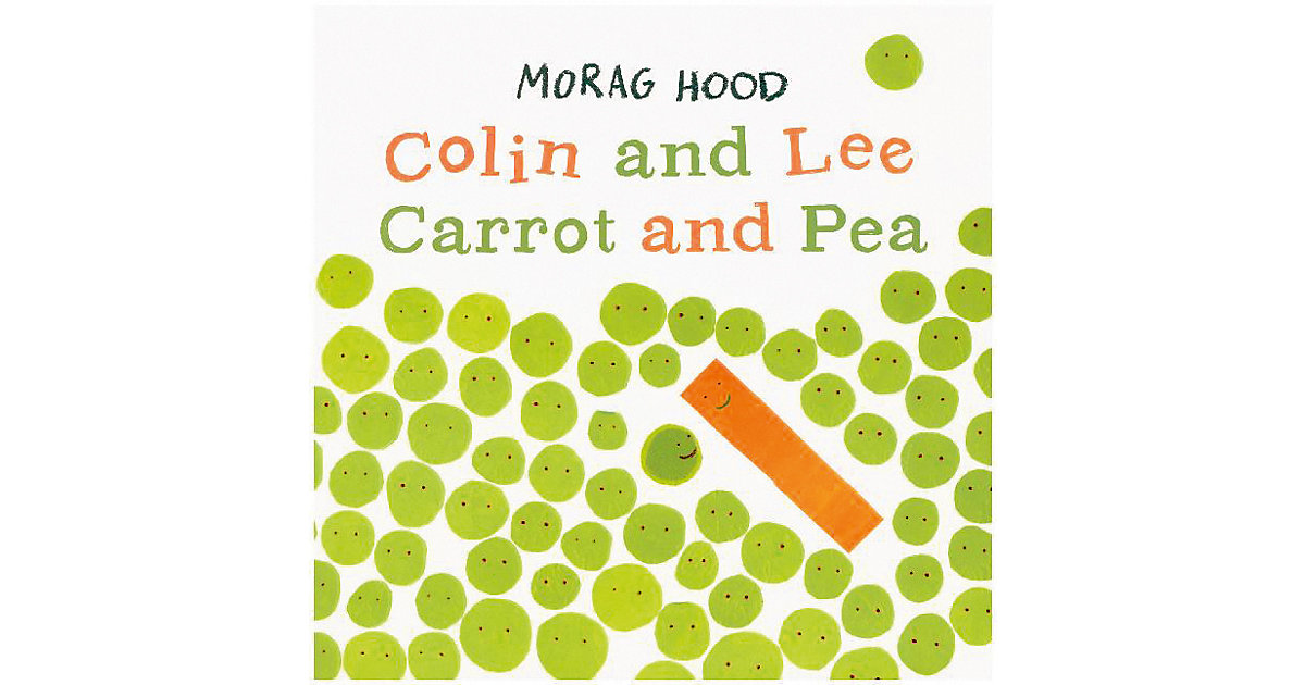 Buch - Colin and Lee, Carrot and Pea