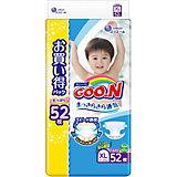 Подгузники Goon XL 12-20 кг. 52 штуки