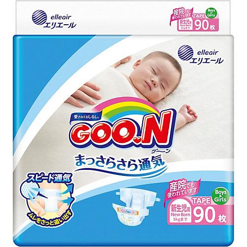 Подгузники Goon NB 0-5 кг. 90 штук от Goon