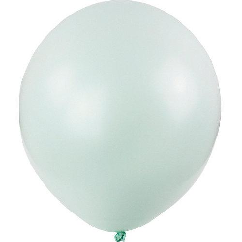 Воздушные шары Macaroon, 100 шт, mint - зеленый от Globos Payaso