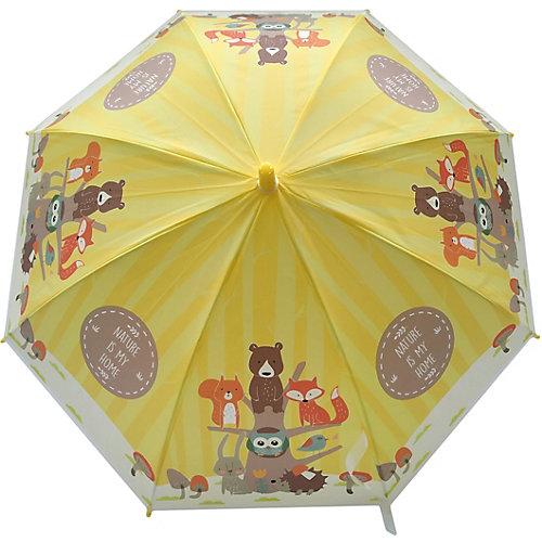 """Зонт детский Mary Poppins """"Лесная семейка"""", 48 см, полуавтомат от Наша Игрушка"""